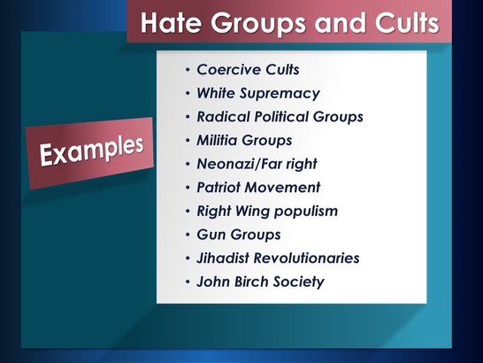 hate groups essay The hate groups right now, there are many active hate groups in the united states such as the ku klux klan, neo-nazi, skinheads, christian identity.